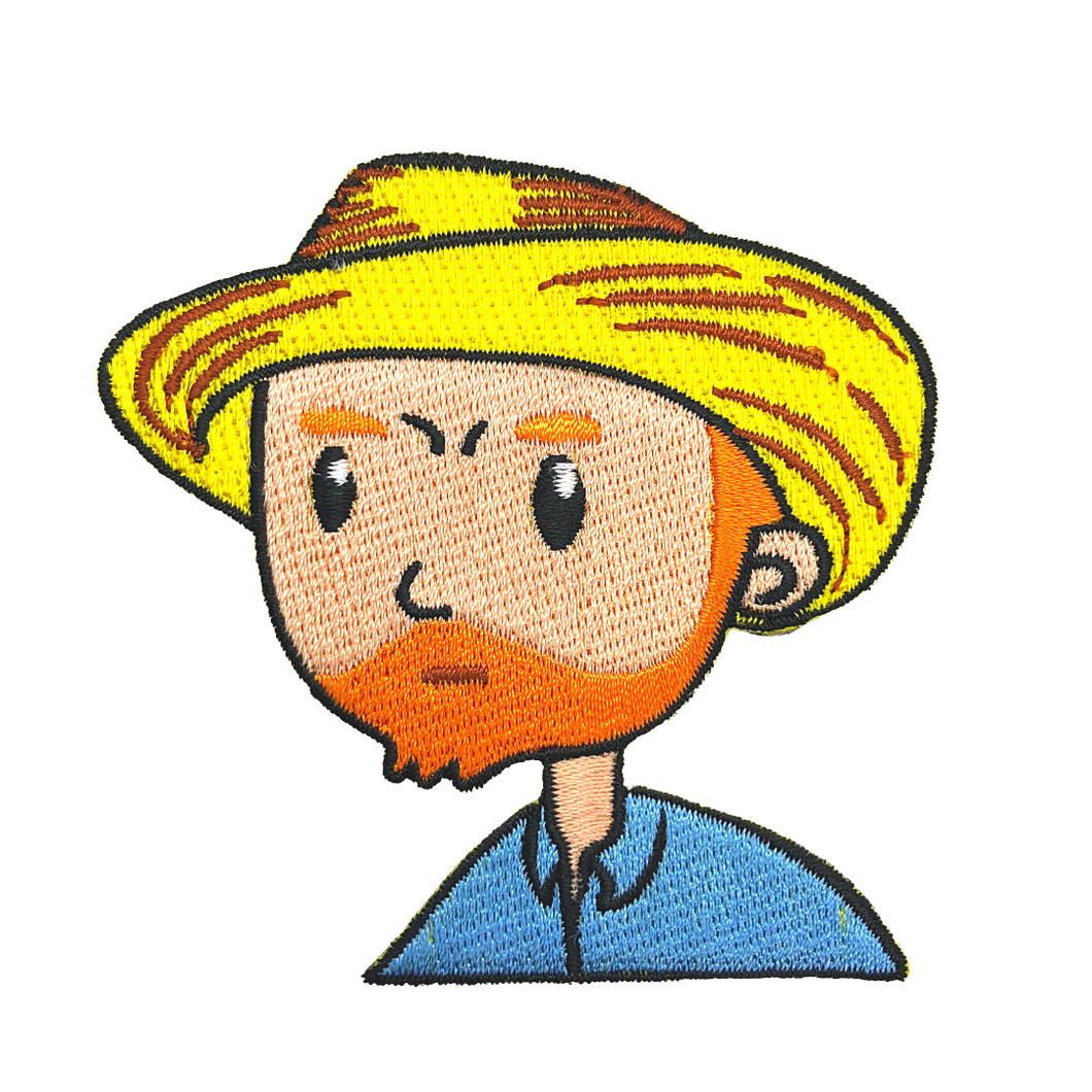 Self-Portrait with Straw Hat - Patch