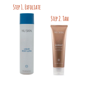 Exfoliate, Tan and Go!