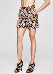 FLOWER BOMB Tailored Shorts
