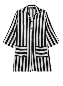 BW STRIPES Pyjama Shirt