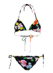 Flower Bomb Triangle Bikini