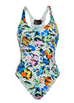 Polka Flower Olympic One Piece