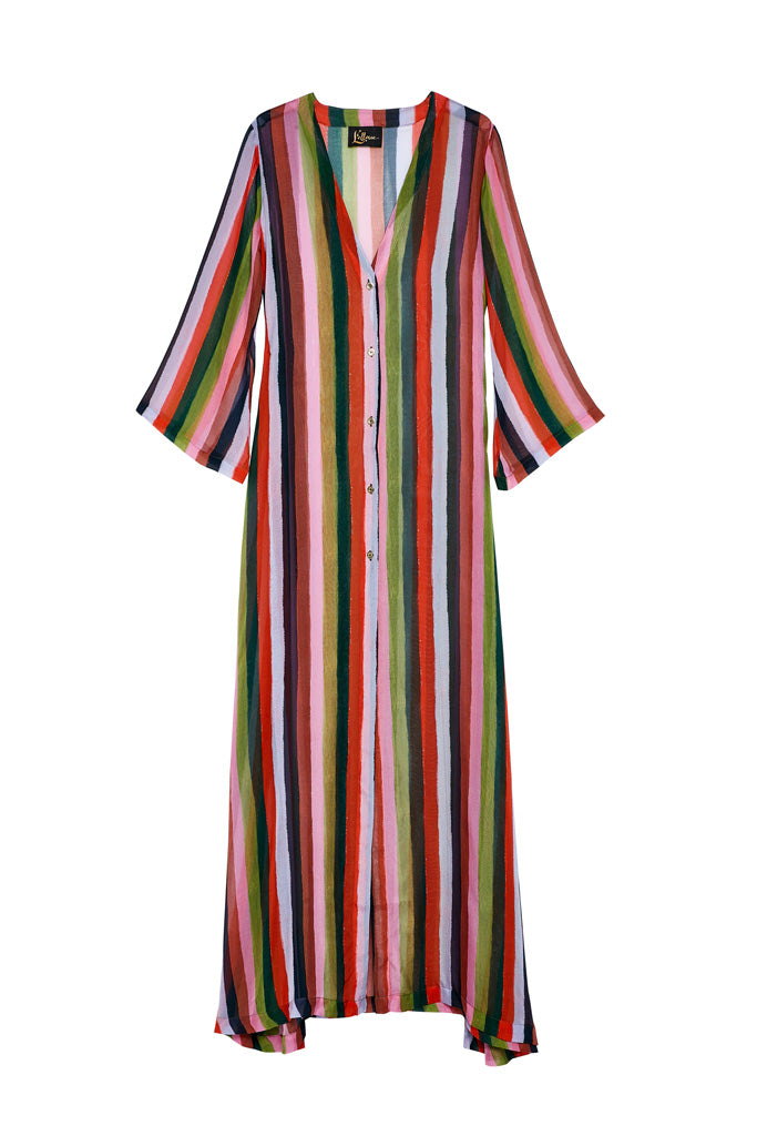 Candy Stripe Kaftan
