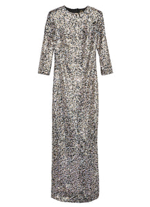 Sequin Floor Length Dress