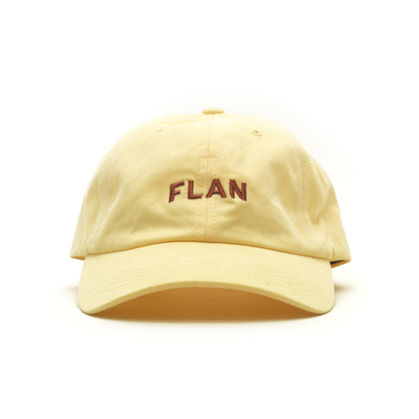 FLAN Wordmark Dad Hat - Creme