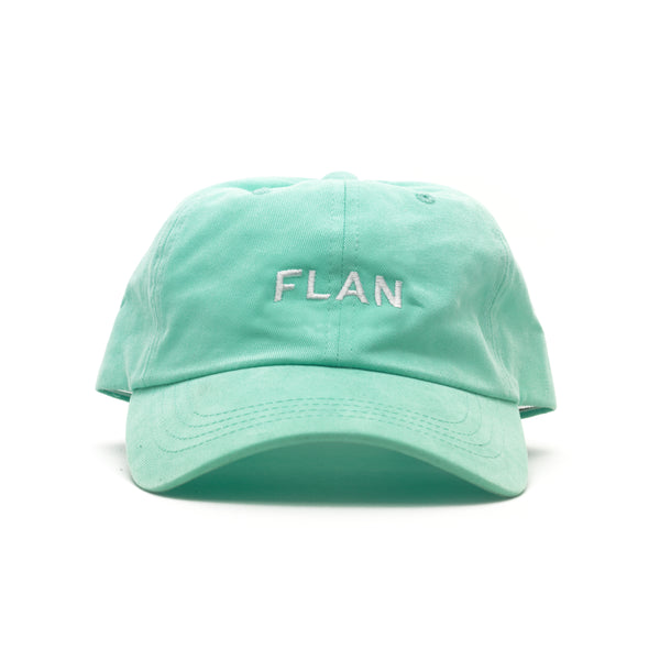 FLAN Wordmark Dad Hat - Diamond Blue