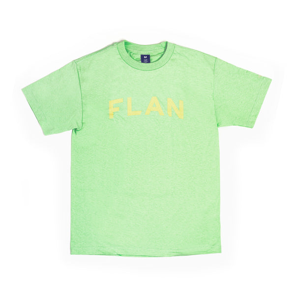 FLAN Wordmark T-Shirt - Light Green