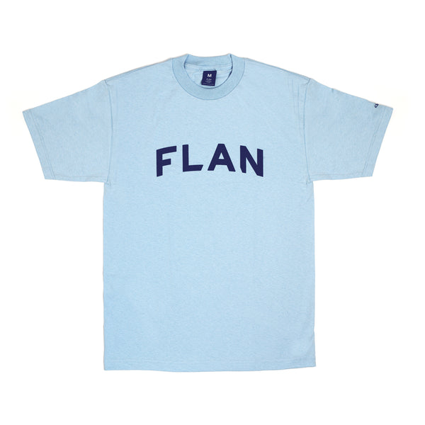 FLAN Wordmark T-Shirt - Light Blue