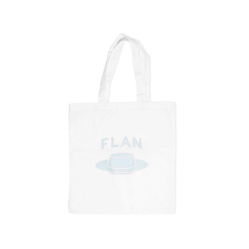 FLAN Tote Bag - White
