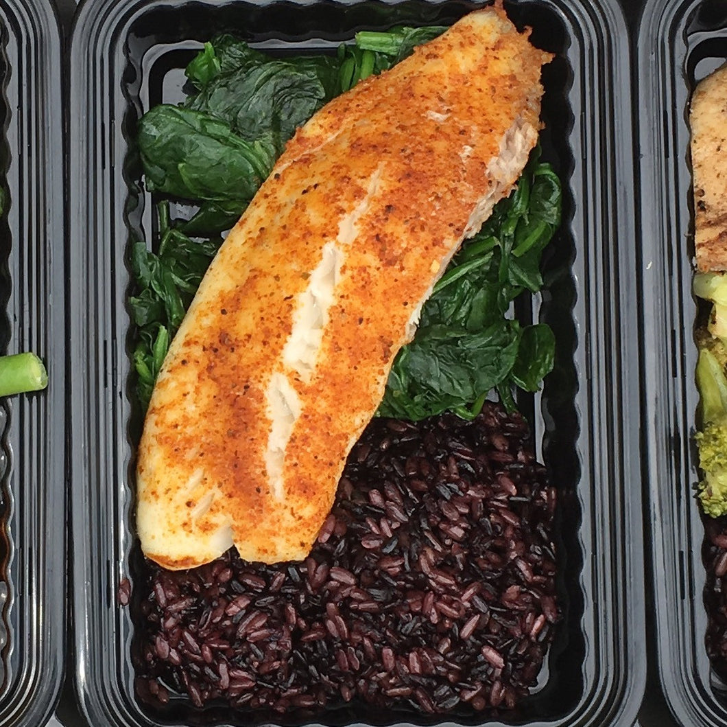 Build Your Own Meal with Baked Tilapia (8oz)