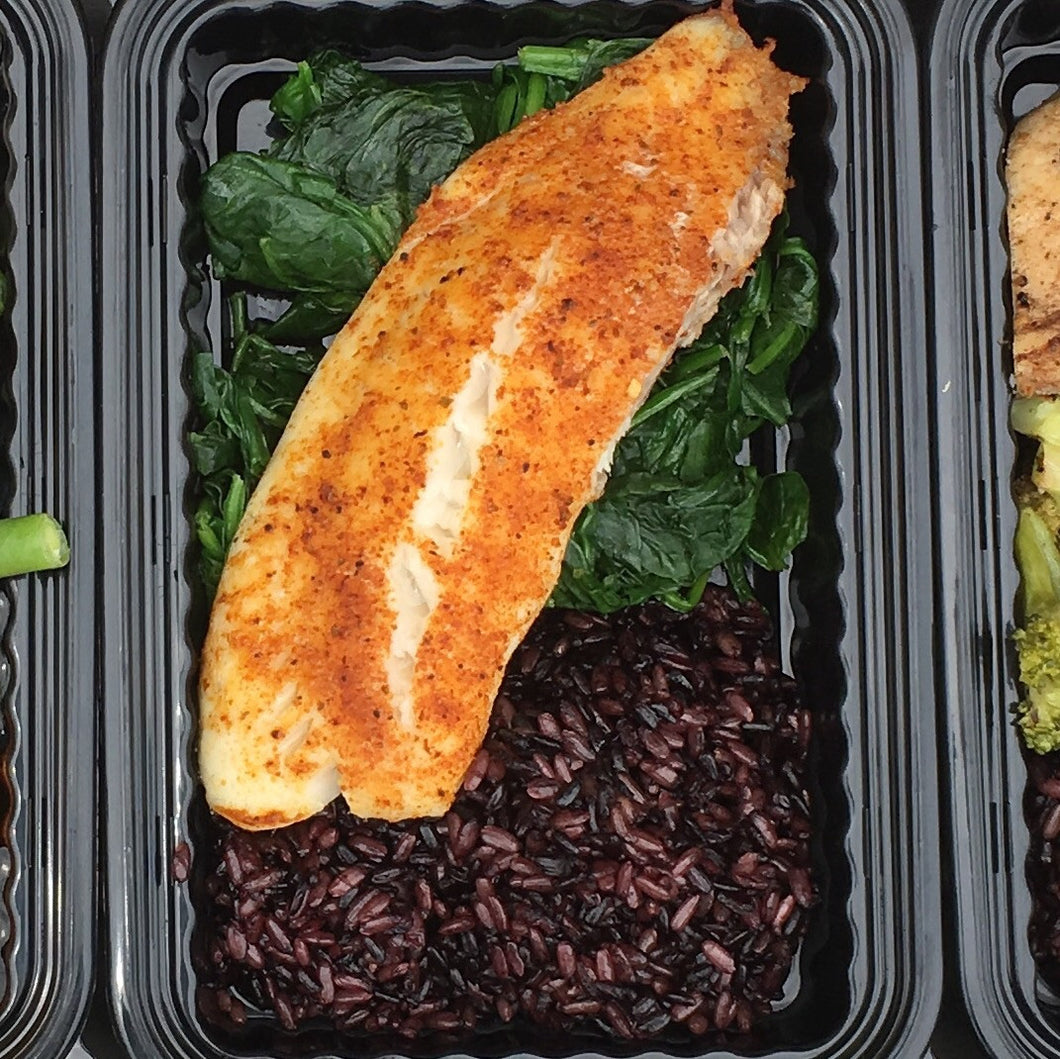 Build Your Own Meal with Baked Tilapia (3oz)