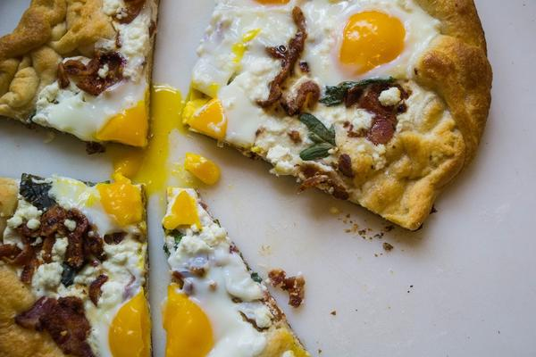 Brunch Flat Bread
