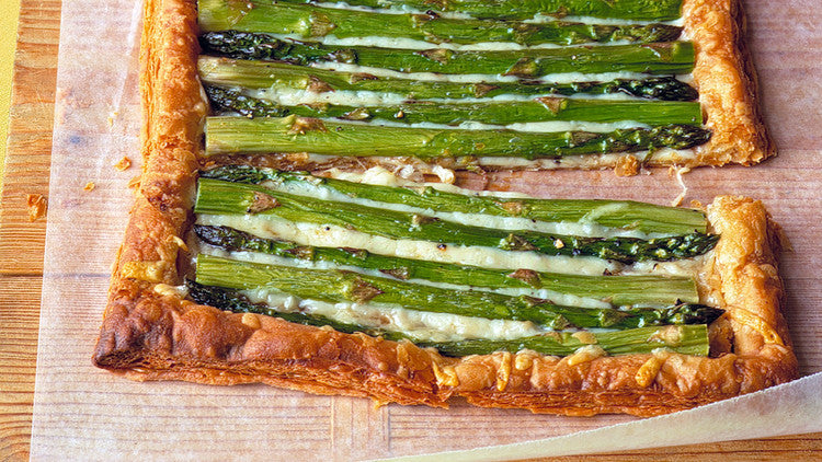 O'Live A Little's Asparagus and Comté Tart