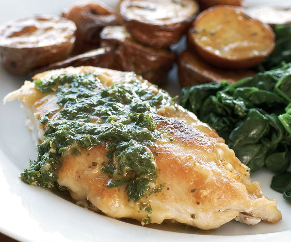Sautéed Chicken Breasts with Gremolata