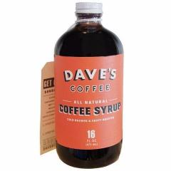 Original Coffee Syrup - Dave's