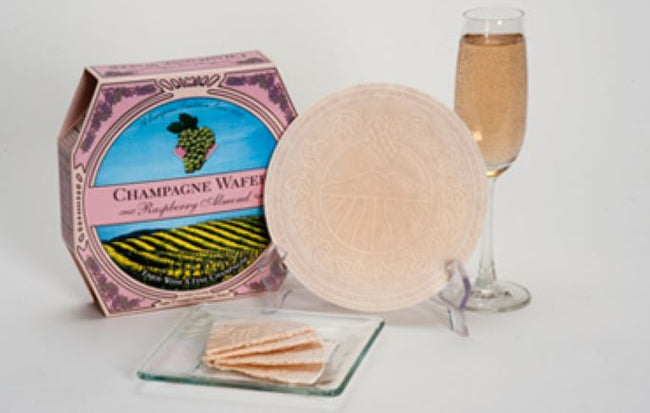 Wine & Champagne Wafer Cookies