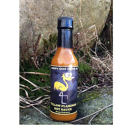 Angry Goat Hot Pepper - Yello Flamingo
