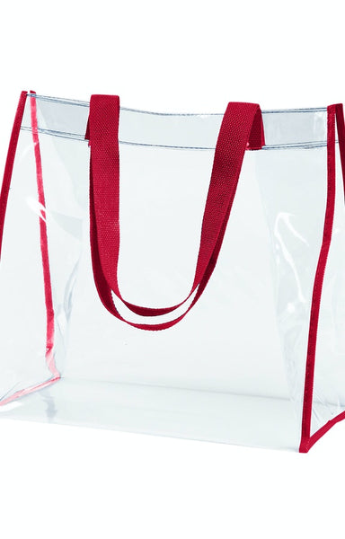 Clear Stadium Approved PVC Tote - Jack and Lu