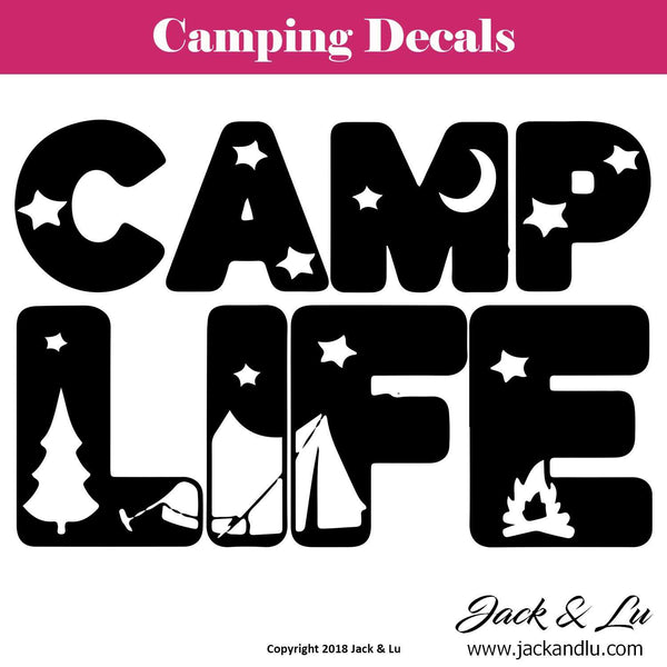 Camp Life Decal - Jack and Lu
