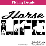 Horse Life Decal - Jack and Lu
