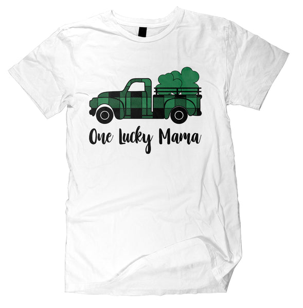 One Lucky Mama St. Patrick's Day Truck T- Shirt - Jack and Lu