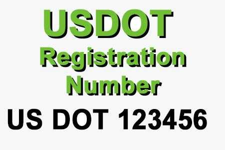 USDOT Registration Number Sticker - Jack and Lu