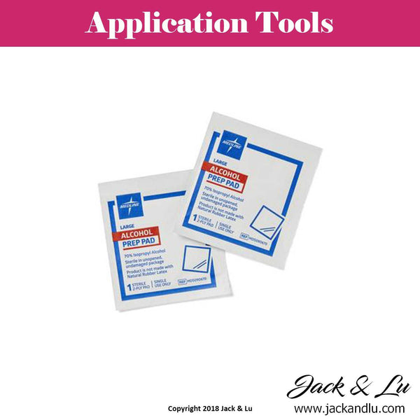 Alcohol Prep Pads - Pack of (2) - Jack and Lu