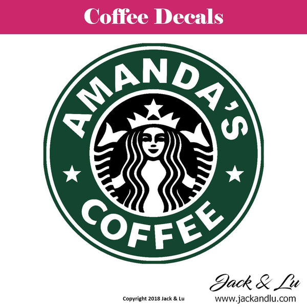 Starbucks Coffee Cup Decals