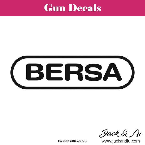 Gun Decal - Bersa - Jack and Lu