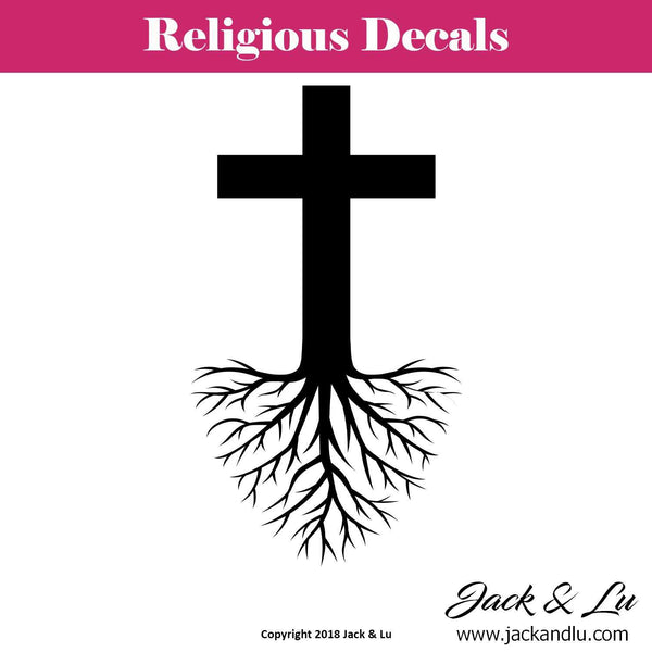 Deep Rooted Religion Religious Decal - Jack and Lu