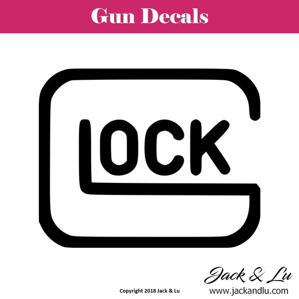 Gun Decal - Glock - Jack and Lu