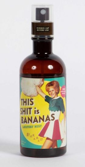 THIS SHIT IS BANANAS LAVATORY MIST - Jack and Lu