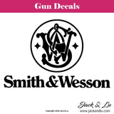 Gun Decal - Smith & Wesson - Jack and Lu