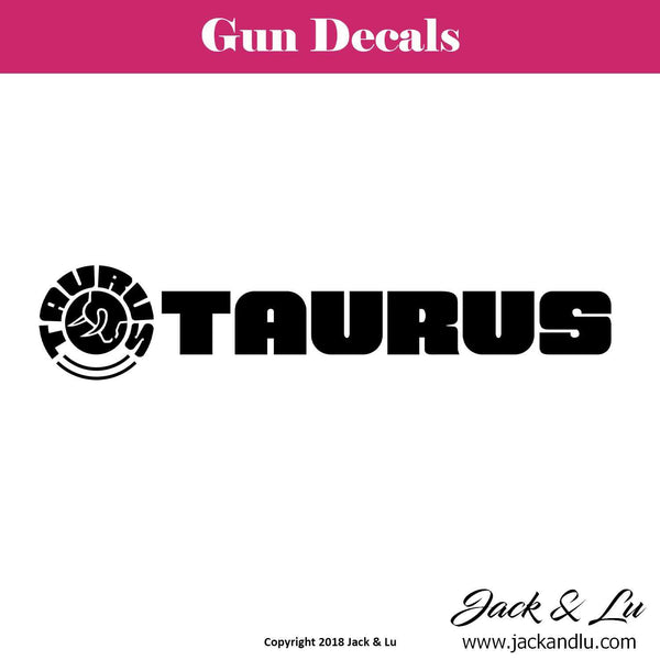 Gun Decal - Taurus - Style No. 2 - Jack and Lu