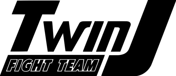 Twin J Fight Team Logo Vinyl Adhesive Decal - Jack and Lu