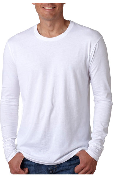 Men's Cotton Long Sleve Crew