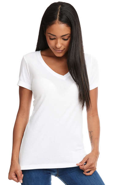 Ladies' Ideal V-Neck T-Shirt - Jack and Lu