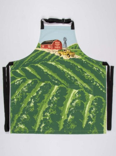 WEED FARM TO TABLE APRON - Jack and Lu