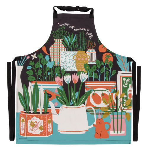 PARSLEY, SAGE, ROSEMARY AND FUCKOFF APRON - Jack and Lu