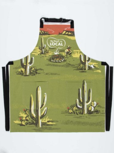 MY MEAT IS LOCAL APRON - Jack and Lu