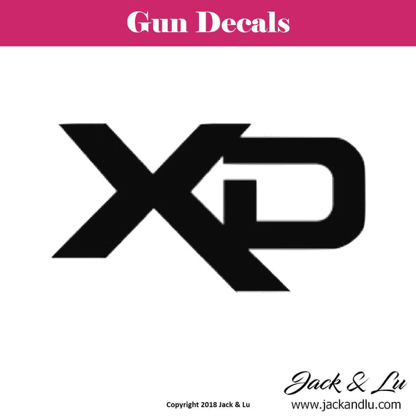 Gun Decal - Springfield XD - Jack and Lu