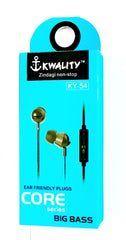 Kwality - Universal Earphone - Core Series - Big Bass