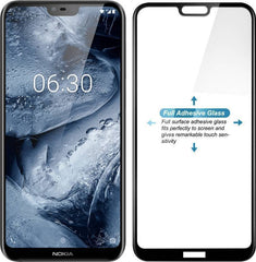 Nokia 6.1 Plus (5D) Gumming Glass