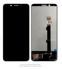 Display  for Oppo F5 Youth  -  With Frame (Black)