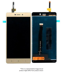 Display  for Redmi 3s prime  -  With Frame (Gold)