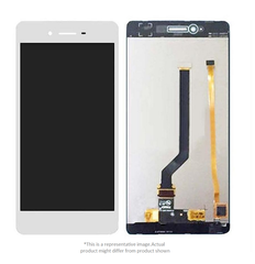 Display  for Oppo F1  -  With Frame (White)