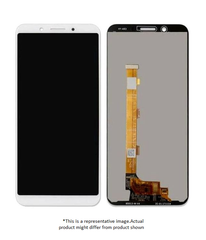 Display  for Oppo A83  -  With Frame (White)