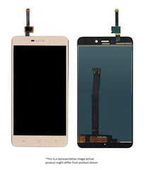 Display  for Redmi 4A  -  With Frame (Gold)
