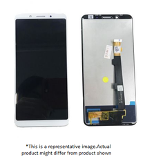 Display  for Oppo F5  -  With Frame (White)