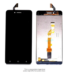 Display  for Oppo A37  -  With Frame (Black)